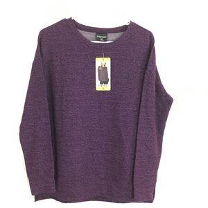 32Degrees Heat Fleece Purple Top Ladies Size Small